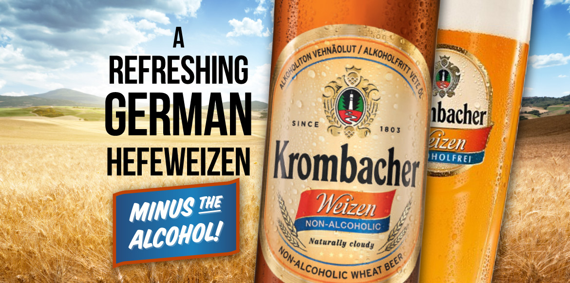 A Refreshing German Hefeweizen - Minus The Alcohol