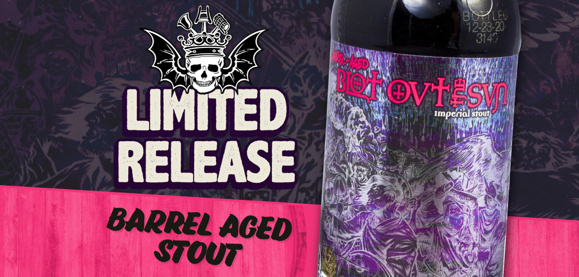 Limited Release Barrel Aged Stout From 3 Floyds!