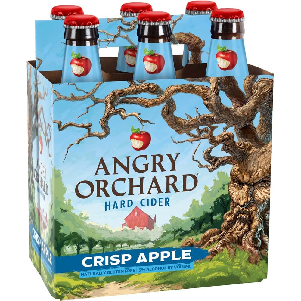 Home Beer Hard Ciders Angry Orchard Crisp Apple Cider