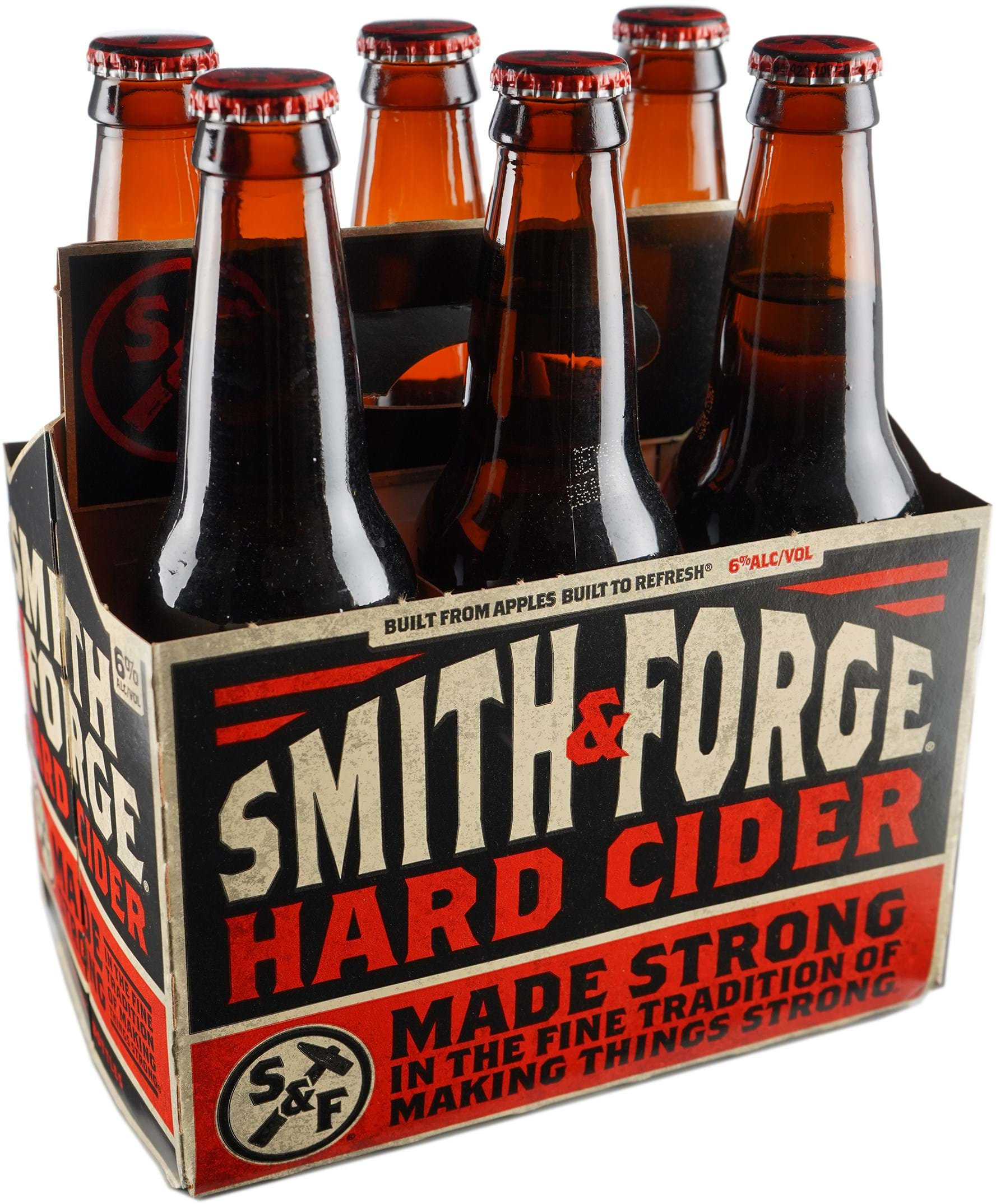 """Smith /& Forge Hard Cider""""one""""16 Ounce Glass Mug Miller Brewing Company Milwaukee"""